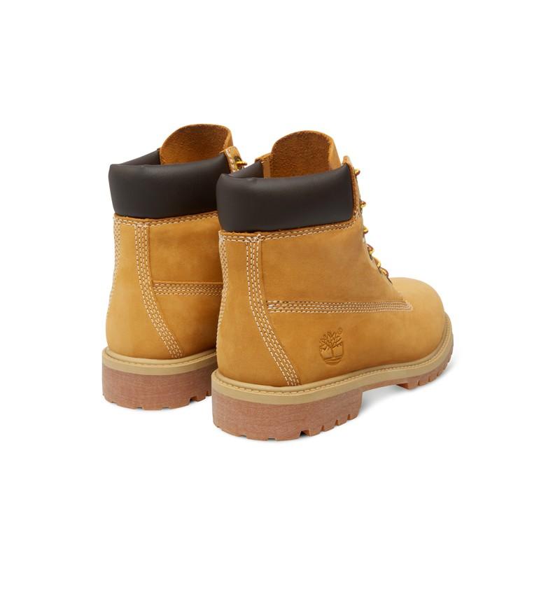 Timberland 6 inch Premium WP Boot Junior 12909 Wheat nubuck