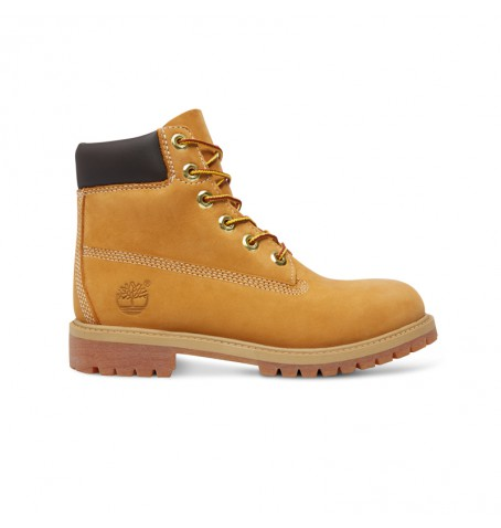Timberland 6-inch Premium WP Boot Junior - 12909 - Wheat nubuck
