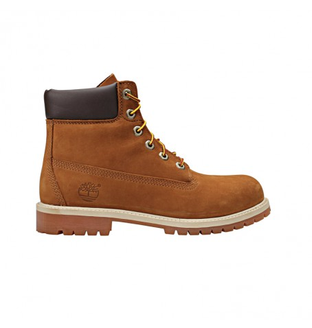 Boots Junior Timberland 6-inch Premium Waterproof Boot - Rust nubuck