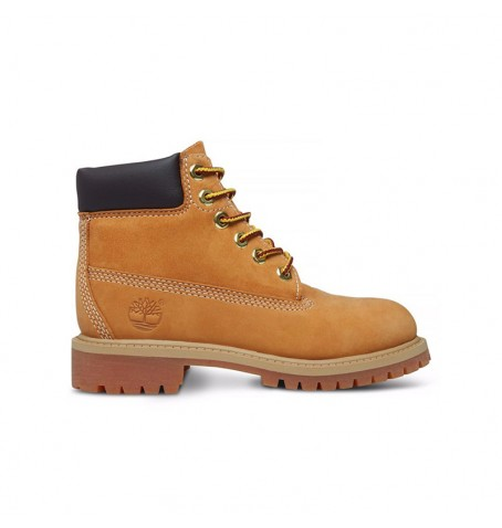 Boots Enfant Timberland 6-inch Premium Waterproof Boot - Wheat nubuck