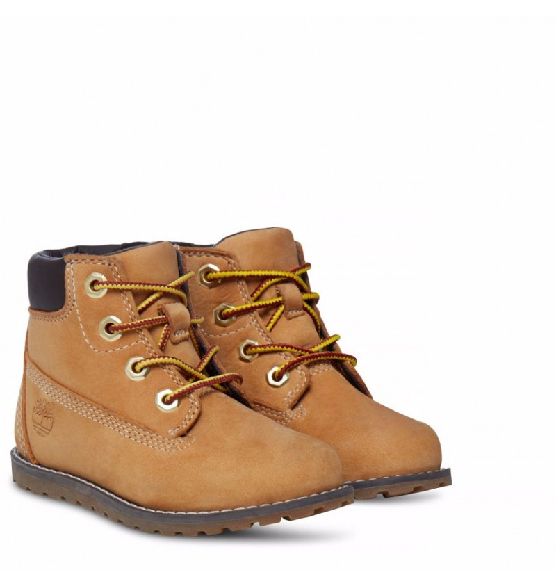 f53689d701d0 Timberland A125Q - Pokey Pine 6-inch Boot With Side Zip Enfant