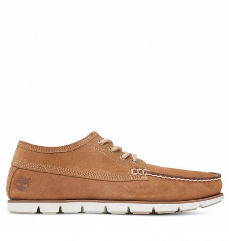 Chaussures Homme Timberland Tidelands Ranger Moc - A1H8U - Brown suede