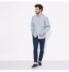 Chemise Homme Timberland LS Pleasant River Oxford - Coupe droite