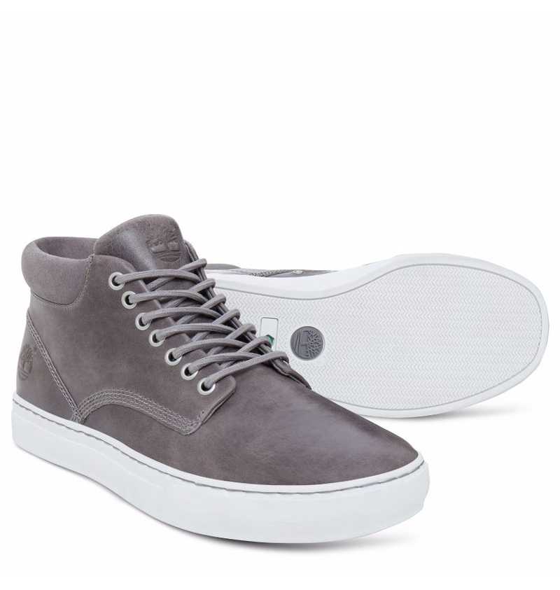 Chaussures Homme Timberland Adventure Cupsole Chukka Gris
