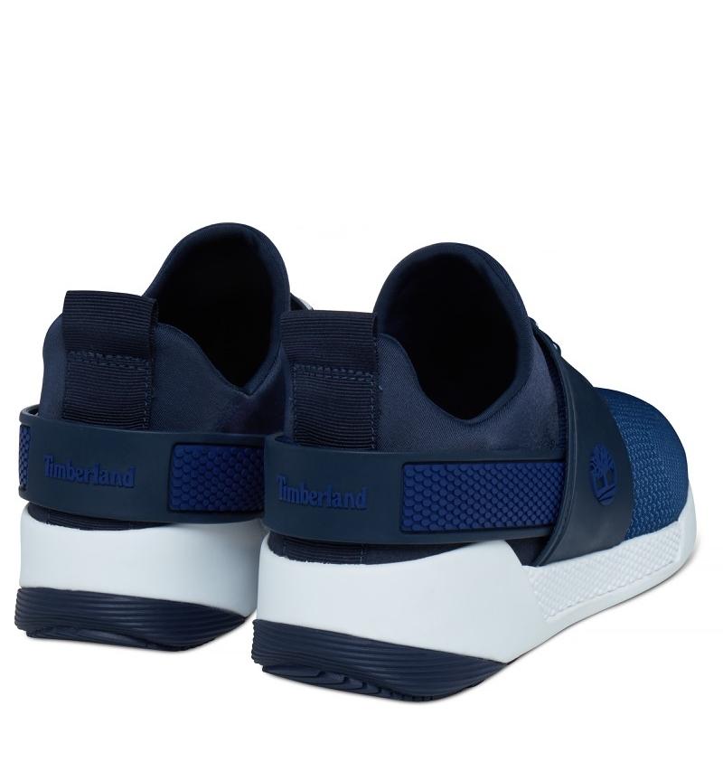 Sneakers Femme Timberland Kiri Up Chukka Knitted Bleu marine