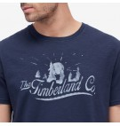 Timberland A1686 - Graphic Slub Tee Homme