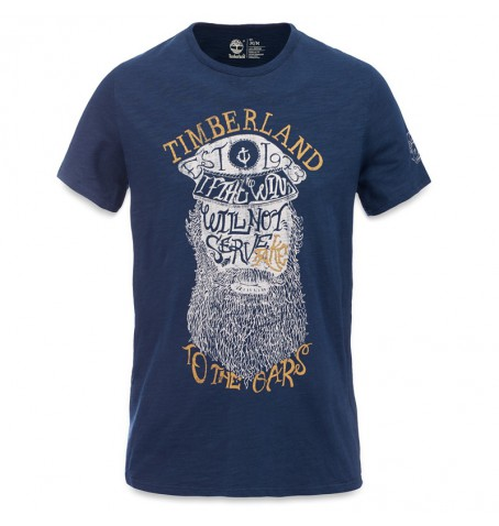 Timberland A14PZ - Herring River Wharf Multigraphic Tee