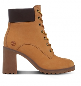Bottines Femme Timberland Allington 6-inch Lace Up Boot - Wheat Nubuck