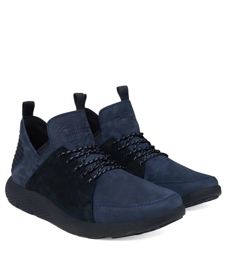 chaussures timberland bleu marine