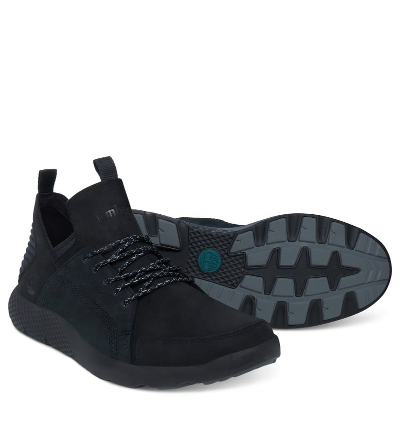 Chaussures Homme Timberland Flyroam Wedge Black nubuck