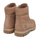 Boots Femme Timberland Icon 6-inch Premium WP Boot - Natural Nubuck