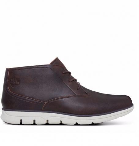 Chaussures Homme Timberland Bradstreet Plain Toe Chukka - Marron