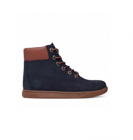 Chaussures Enfant Timberland Groveton 6-inch Lace - Bleu marine