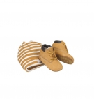 Coffret Bébé - Chaussons Timberland Crib Bootie With Hat - Wheat nubuck