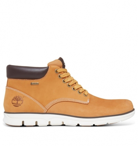 Chaussures Homme Timberland Bradstreet With Gore-Tex - Wheat Nubuck