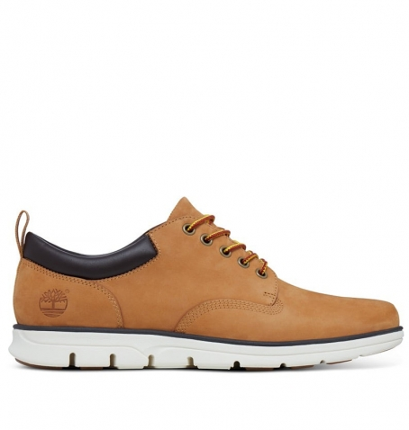 e938bcd87 Timberland Bradstreet 5-Eye Oxford - A1I73 - Wheat nubuck