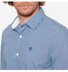 Chemise Homme Timberland LS Gingham Dobby FA - Coupe Slim