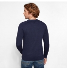 Pull Col Rond Homme Timberland Stop River Cotton Logo 9GSM Crew