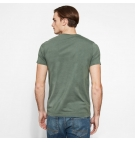 T-Shirt Homme Timberland SS Kennebec River Seasonal Pattern Brand - Coupe Slim