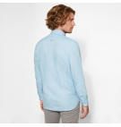 Chemise Homme Timberland LS Mill River Linen Shirt - Coupe Slim