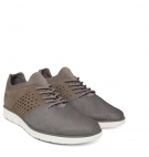 Chaussures Homme Timberland Bradstreet Fabric And Leather Oxford - Gris mesh nubuck