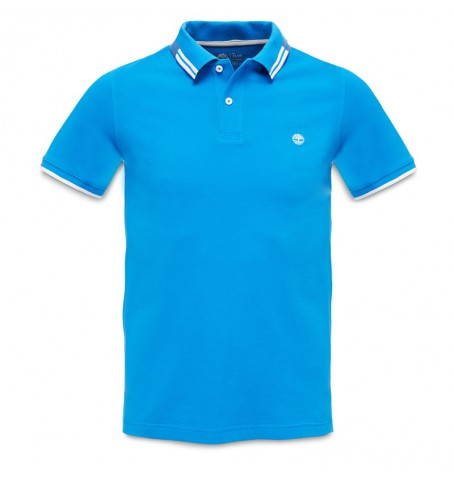 Timberland A14CH - Millers River Tipped Polo Homme