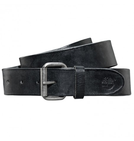 Timberland M3732 - Ceinture Cuir Washed Leather Belt Homme