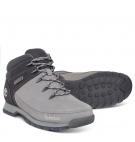 Chaussures Homme Timberland Euro Sprint Hiker - Gris noir nubuck