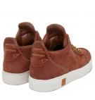 Chaussures Homme Timberland Amherst High Top Chukka - Brown Nubuck