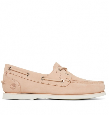 Chaussures Bateau Femme Timberland Classic Boat Unlined Boat Shoe - Beige