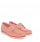 Chaussures Bateau Femme Timberland Classic Boat Unlined Boat Shoe - Rose