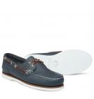 Chaussures Bateau Femme Timberland Classic Boat Amherst 2-Eye Boat Shoe - Bleu marine