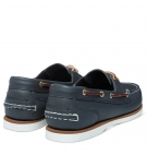 Chaussures Bateau Femme Timberland Classic Boat Amherst 2-Eye Boat Shoe - Bleu marine