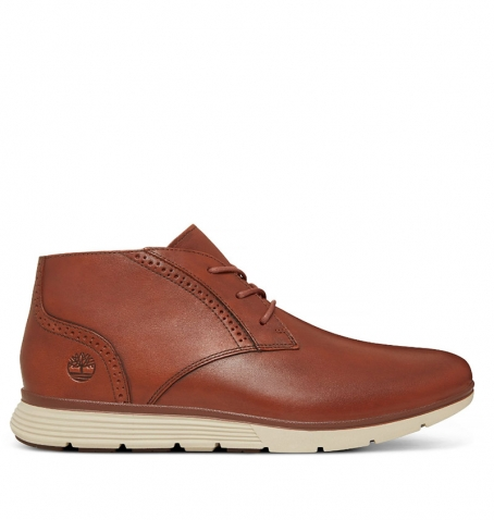 Chaussures Homme Timberland Franklin Park Brogue Chukka - Marron full grain