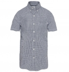 Chemise Homme Timberland SS Suncook River Small Gingham Shirt - Coupe Slim