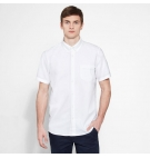 Chemise Homme Timberland SS Pleasant River Oxford Shirt Regular - Coupe Droite