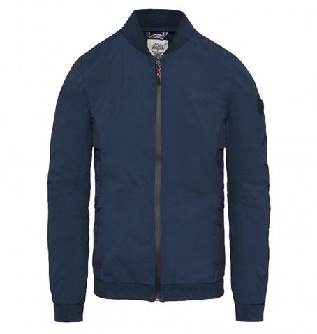 Veste Homme Timberland Mount Bigelow Stretch Cordura Fabric Packable Bomber - Dark Sapphire