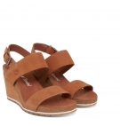 Sandales compensées Femme Timberland Capri Sunset Wedge - Rust