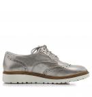 Chaussures Femme Timberland Ellis Street Oxford - Argent métallique