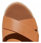 Sandales compensées Femme Timberland Nice Coast Cross Strap - Beige