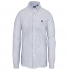 Chemise Homme Timberland LS Milford Stripes Oxford - Coupe Slim