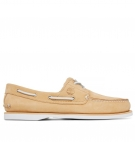 Chaussures Homme Timberland Classic Boat 2-Eye Boat Shoe - Beige nubuck