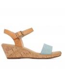Sandales Femme Timberland Whittier Sandal - Fauve Bleu