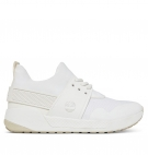 Chaussures Femme Timberland Kiri Up Knitted Oxford - Blanc