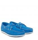 Chaussures Bateaux Homme Timberland Tidelands Classic 2-Eye - Bleu Suède