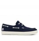 Chaussures Homme Timberland Newport Bay 2-Eye Boat Oxford - Bleu marine