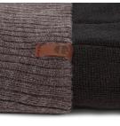 Bonnet Homme Timberland Ribbed Colorblock Beanie - Noir