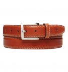 Ceinture Timberland Classic Leather Belt With Contrast Stitching
