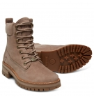 Bottines Femme Timberland Courmayeur Valley YB - Gris nubuck