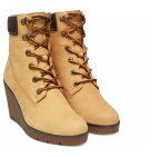 Bottines Femme Timberland Paris Height 6-inch Boot - Jaune foncé nubuck
